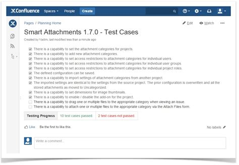Confluence Tips And Tricks Task Lists And Automatic Calculation Stiltsoft Confluence Test Template
