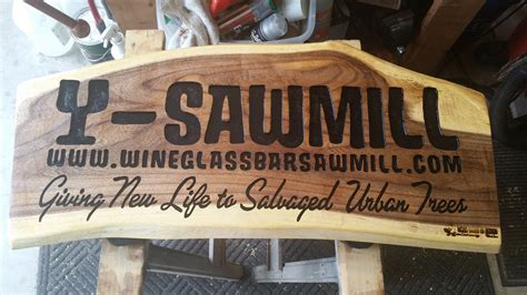Handmade Plaques - live edge carved wood signs archives custom carved wood