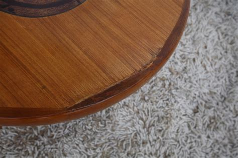 coffee table with tile inlay teak coffee table with ceramic tiles inlay by