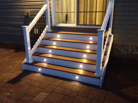 Stair Lights Outdoor Low Voltage Outdoor Stair Lighting Ideas Home Decor With Images Savwi
