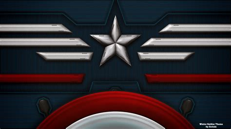 captain america wallpaper border captain america winter soldier theme by crotale on deviantart