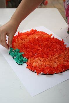 Paper Crumpling Craft - 1000 images about tissue paper crafts on