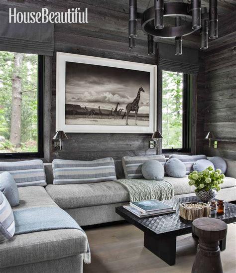 home tour anne hepfer s rustic modern lake house lakes designers best 25 lake house family room ideas on pinterest