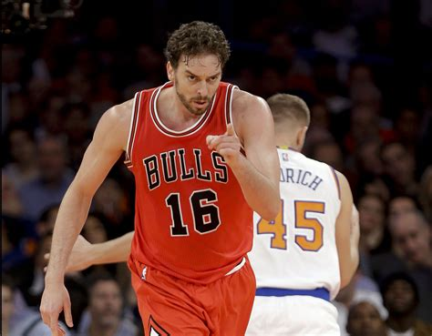 Gasol Mba by Dominant Pau Gasol Shows He May Be A Fit For Bulls