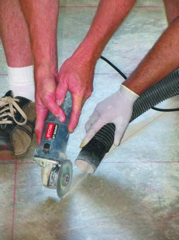 Concrete Tips: Using PVC Pipe to Draw Curves for Saw