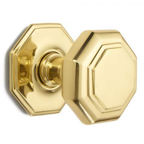 Croft 4185 Centre Front Door Knob Bronze Brass Chrome Front Door Knob
