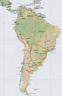 america on a map central america caribbean and south america pipelines map