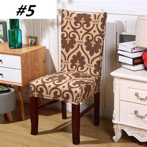 chair covers soft spandex fit stretch short dining room