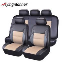 Car Seat Cover For Flying Car Seat Covers Set Flying Banner Pu Leather Mesh