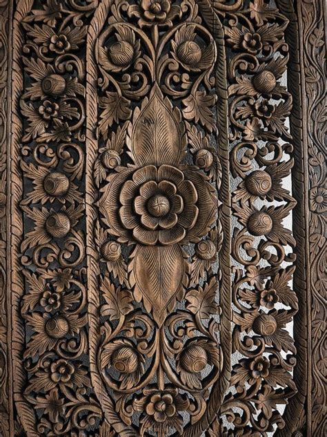 25 best ideas about carved wood wall on wall headboard decor and