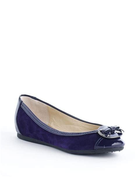 adrienne vittadini shoes flats adrienne vittadini jayla animal print ballet flats in blue