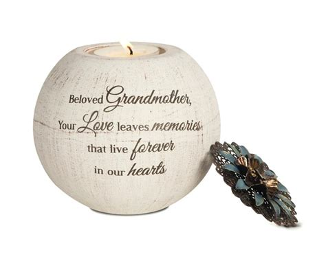 memorial gifts sympathy gift for grandmother memorial candle