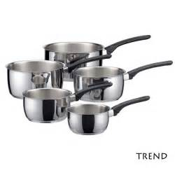 Sur La Table Wok Serie De 5 Casseroles Trend Inox Tous Feux Induction