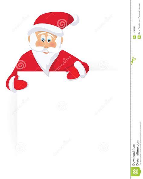 santa claus and sing royalty free stock photo image
