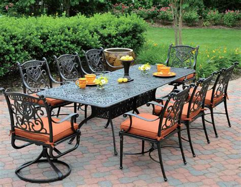 9 patio dining set patio 9 patio dining set home interior design