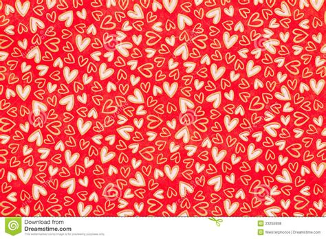 Decorated by Cheery Heart Wrapping Paper Stock Photo Image Of Tissue