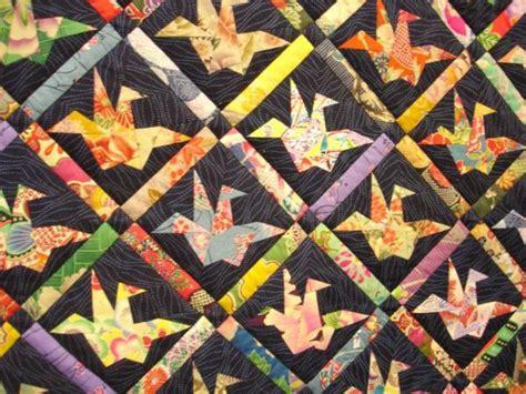 Origami Crane Quilt Pattern - japanese paper crane quilt pattern