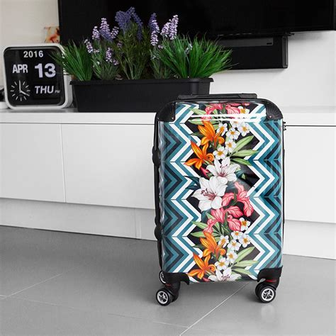 designer cabin luggage personalised suitcase design your own suitcase uk