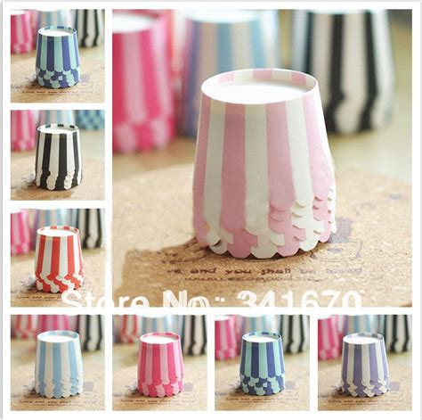 How To Make Cupcake Cases Out Of Baking Paper - 50pcs lot high temperature mini baking paper muffin cake