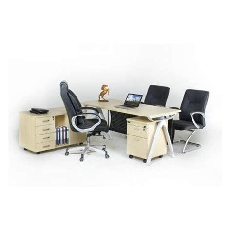 Meja Direktur Aditech Fd 05 jual meja kantor direktur aditech fr 05 laci dorong murah harga spesifikasi