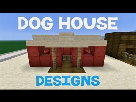 how to build a dog house in minecraft minecraft dog house designs cool things for dogs
