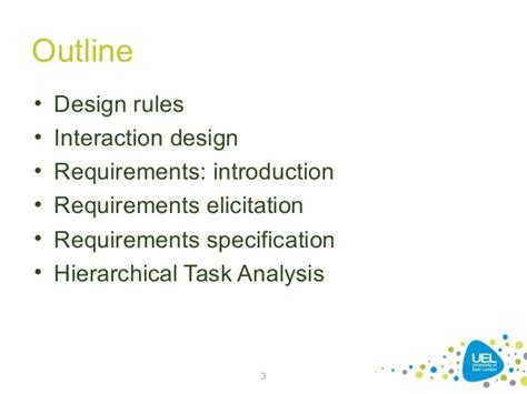 guidelines design rules design rules and usability requirements