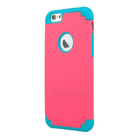 ebay iphone cases for apple iphone 7 7 plus shockproof rugged hybrid rubber cover ebay