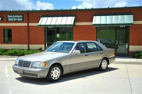 where to buy car manuals 1995 mercedes benz c class lane departure warning purchase used 1995 mercedes benz s320 lwb 2 owners very clean well serviced must see in
