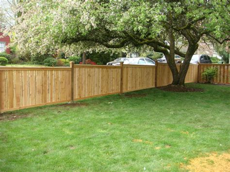 fenced in backyard colonial decks and fences improving your yard s image