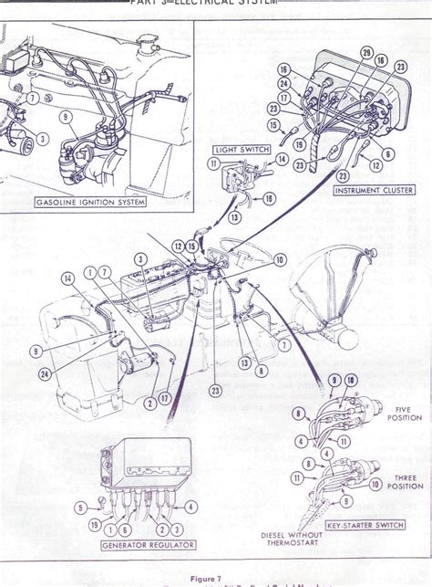 ford 4600 tractor wiring diagram get free image about