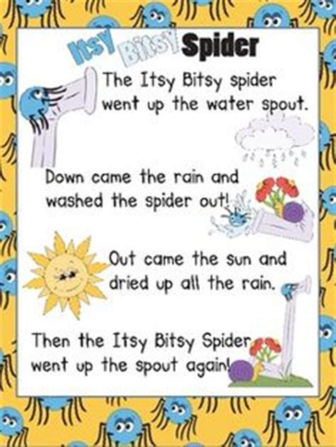 the itsy bitsy spider sing along with me books nursery rhymes song book classroom sing a longs