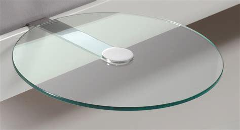 nachttisch aus rundem esg glas malaga betten de - Nachttisch Glas Rund