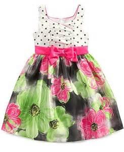 bonnie jean little girls dot floral dress kids girls 2