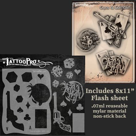 rockstar tattoos pro series 2 stencil guns gamblin rockstar
