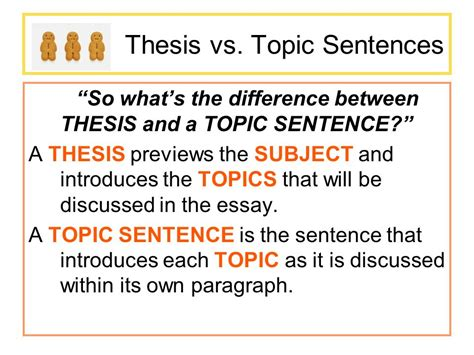 does a thesis to be one sentence do now thinking in threes ppt