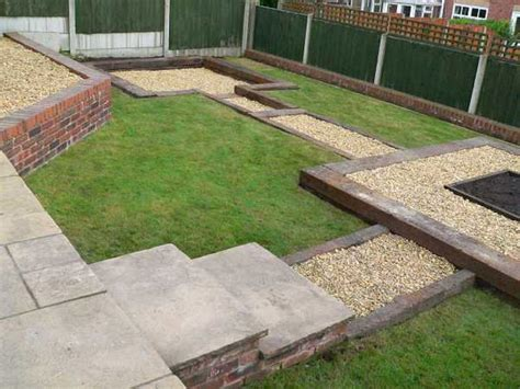 Garden Sleeper by Used Railway Sleepers Patio