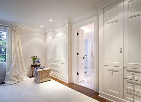 floor to ceiling closets transitional bedroom susan
