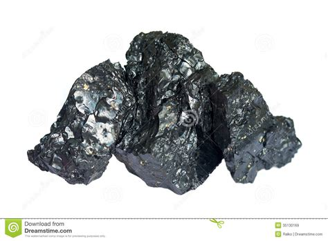 Pieces Of Three three pieces of coal royalty free stock images image