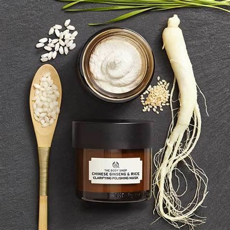 Ginseng Rice Mask ginseng and rice clarifying polishing mask 3 0 oz