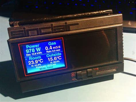 Monitor Lcd Nathans raspberry pi sinclair tv lcd conversion piday