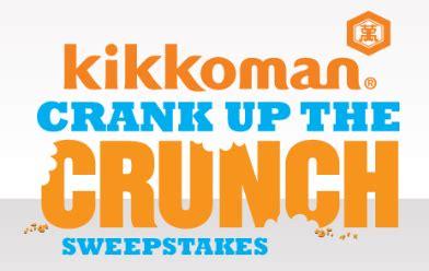 Kikkoman Sweepstakes - kikkoman crank up the crunch 10 000 sweepstakes instant win game debt free spending