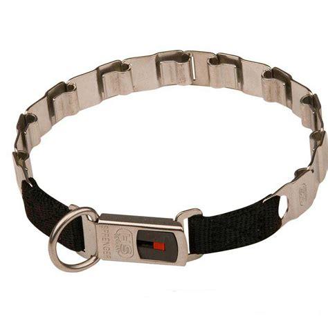 pet tech collar get mastiff stainless steel collar strong neck tech collar