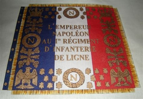 libro lme de napolon french why no lettering or seals vexillology