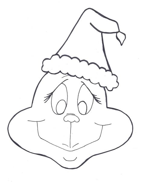The Grinch Coloring Page Coloring Home Free Coloring Pages Grinch