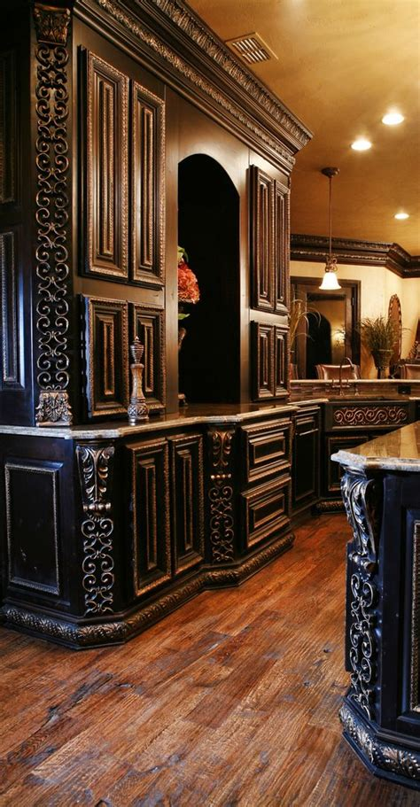 Tuscan Home Decor Catalog wood cabinets style and cabinets on pinterest
