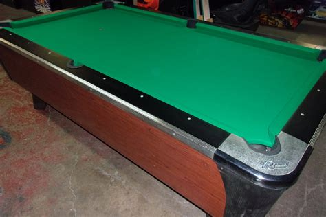 dynamo 7ft coin op pool table pt090