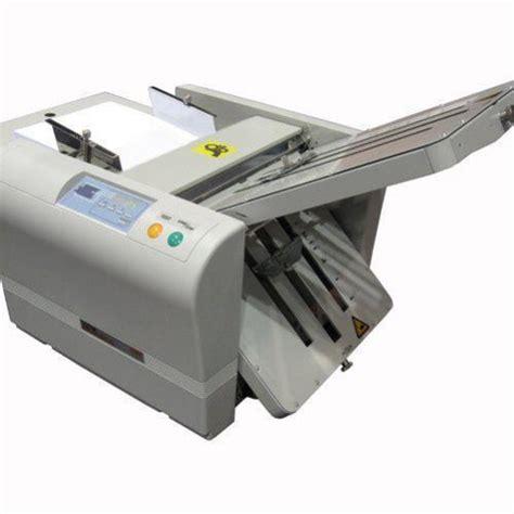 Manual Paper Folding Machine - mbm 207m manual tabletop paper folding machine free