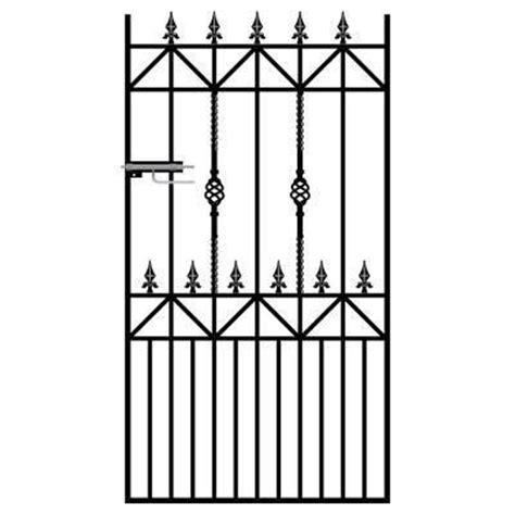 royal ascot wrought iron metal side gate buy tall garden