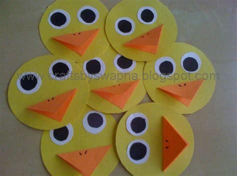 craft ideas mini paper duck