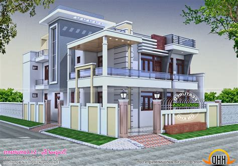 Modern Wall Pictures For Home by Front Wall Designs Modern House Mkumodels